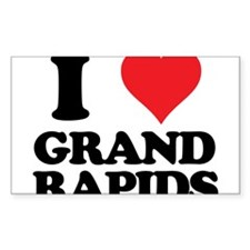 I love Grand Rapids Decal