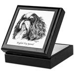 English Toy Spaniel Keepsake Box