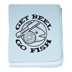 Get Reel Go Fish baby blanket