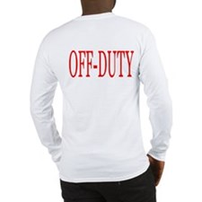 Off-Duty (Red) Long Sleeve T-Shirt