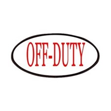 Off-Duty (Red) Patches