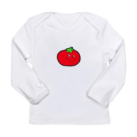 Happy Tomato Long Sleeve Infant T-Shirt