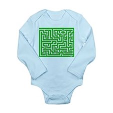 Mouse Maze Long Sleeve Infant Bodysuit