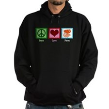 Peace Love Pisces Hoody
