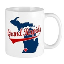 Grand Rapids, where the heart Mug
