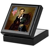 Lincoln's Black Lab Keepsake Box