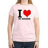 Women's I Love My Soldier