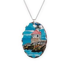 Necklace Oval Cuckholds Lighthouse