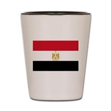 Egyptian National Flag Shot Glass