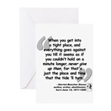 Stowe Never Quote Greeting Cards (Pk of 10)