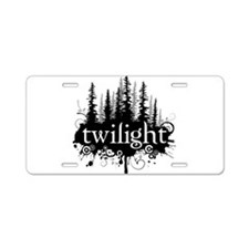 Unique Twilight Aluminum License Plate