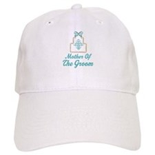 Mother of the Groom Wedding Cake Baseball Cap