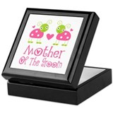 Mother of the Groom Ladybug Keepsake Box