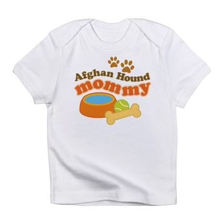 Afghan Hound Mommy Pet Gift Infant T-Shirt