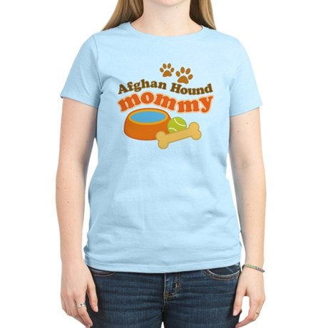 Afghan Hound Mommy Pet Gift Women's Light T-Shirt