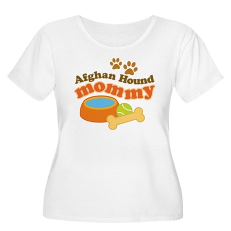 Afghan Hound Mommy Pet Gift Women's Plus Size Scoo