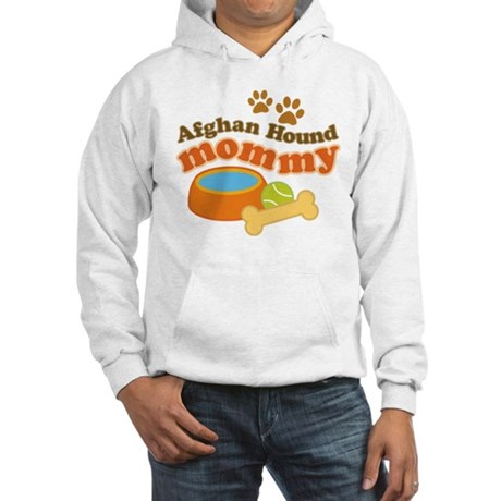 Afghan Hound Mommy Pet Gift Hooded Sweatshirt