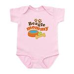 Beagle Mommy Pet Gift Infant Bodysuit