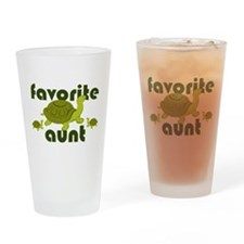 Favorite Aunt Drinking Glass