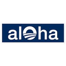 Obama ALOHA - Bumper Sticker
