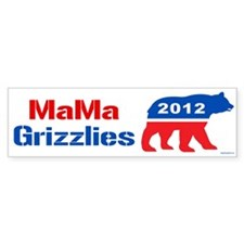 MaMa Grizzlies 2012 Bumper Sticker