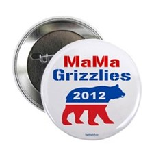 "MaMa Grizzlies 2012 2.25"" Button (10 pack)"