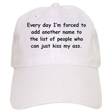 Kiss My Ass Baseball Cap