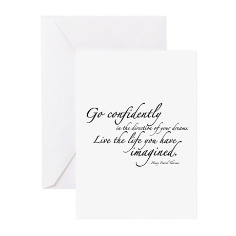 Henry David Thoreau Greeting Cards (Pk of 20)