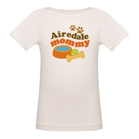 Airedale Mommy Pet Gift Organic Baby T-Shirt