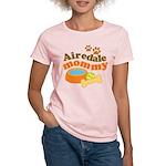 Airedale Mommy Pet Gift Women's Light T-Shirt