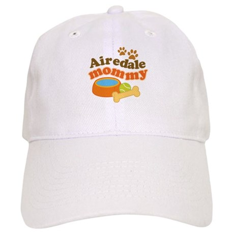 Airedale Mommy Pet Gift Cap