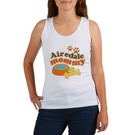 Airedale Mommy Pet Gift Women's Tank Top