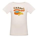 Akita Mommy Pet Gift Organic Baby T-Shirt