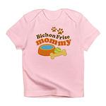 Bichon Frise Mommy Pet Gift Infant T-Shirt