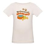 Bichon Frise Mommy Pet Gift Organic Baby T-Shirt