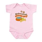 Bichon Frise Mommy Pet Gift Infant Bodysuit