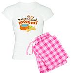Basset Hound Mommy Pet Gift Women's Light Pajamas