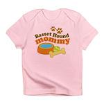 Basset Hound Mommy Pet Gift Infant T-Shirt