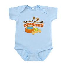 Basset Hound Mommy Pet Gift Infant Bodysuit