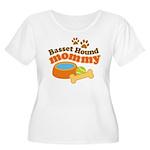 Basset Hound Mommy Pet Gift Women's Plus Size Scoo