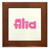 """Alia"" Framed Tile"