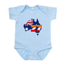 CSREP27Aust Infant Bodysuit