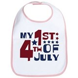 My 1st 4th of July Bib