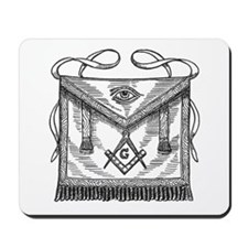 Masonic Apron Mousepad