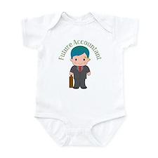 Future Accountant Infant Creeper
