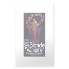 The Blonde Vampire Decal