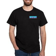 Bad Lil Skyline Girl Black T-Shirt