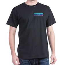 Naughty Skyline Black T-Shirt
