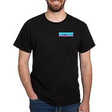 Hot Thing Skyline Black T-Shirt