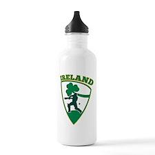 Cricket Batsman Ireland Water Bottle
